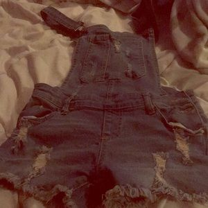 GIRL OVERALL SHORTS